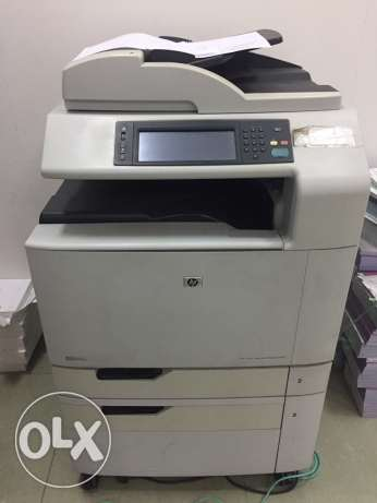 hp color laser jet CM6030 map