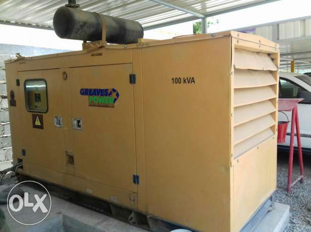 Generator 100 kva for sale available for sale
