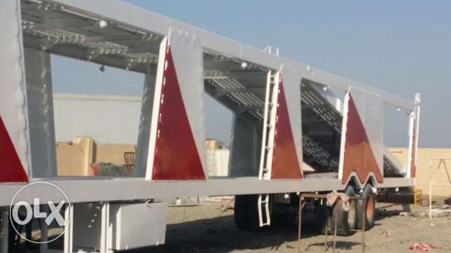 Car carrier trailer made in germany