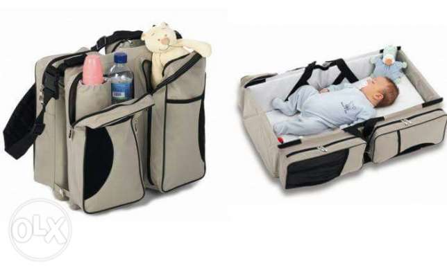 Baby travel bed & bag