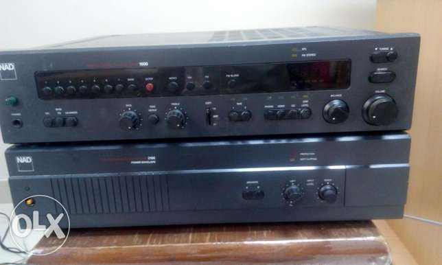 Nad power and pre amplifier v
