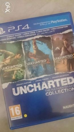 Uncharted collection 3 IN 1 for PS4