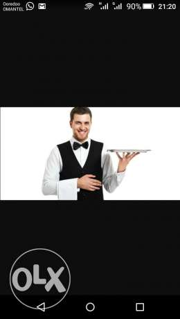 Wanted Gulf experienced BANGLADESHI WAITER for Restaurant
