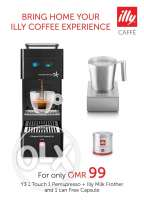 2 units left On sale!!! 99 OMR illy coffee machine