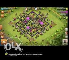 Clash of clans - th8 - lvl93 - rest below
