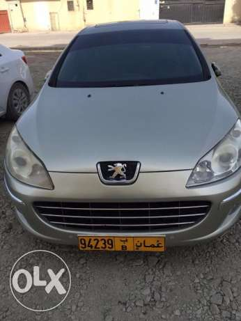 Peugeot 407 good condition car with alloy wheel sunroof