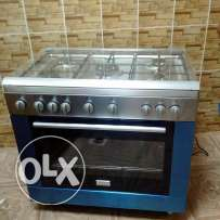 Frigidaire 5 gas burner with oven