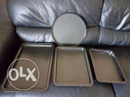 Oven Trays - 4 nos - Suitable for roasting / cooking in oven