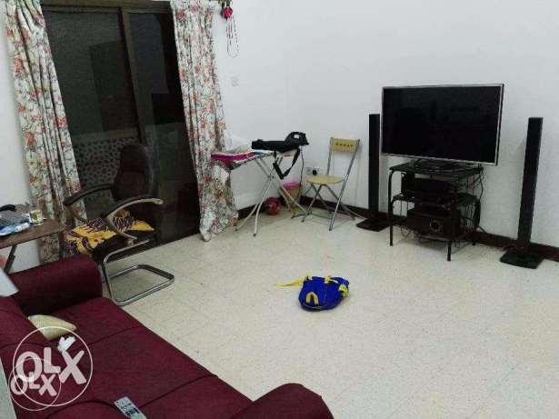 1 BHK in Al khuwair, rent for one month 26 june to 26 July 2017