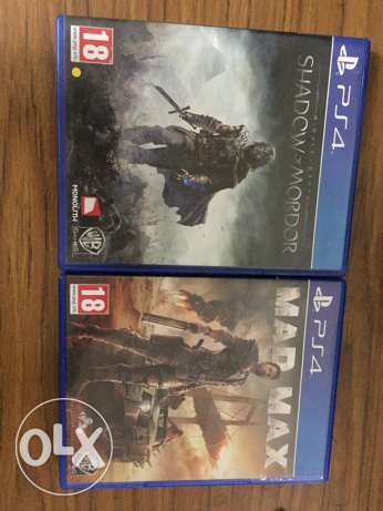 ps4 games for sell or exchange للمبادلة