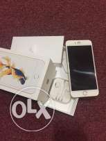 iphone 6S plus gold 64GB with warranty and all accessories