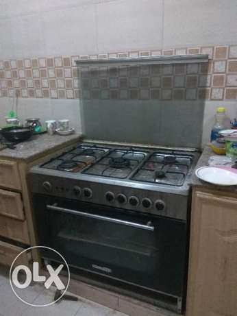 5 stove Burner with dual grill set