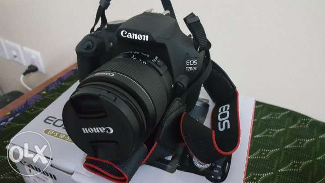 Brand New and unused Canon EOS 1200 .DSLR Camera fore sale.