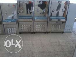 3 tap water coolers stainless steel 1 normal 2 cold tap 25 gallons
