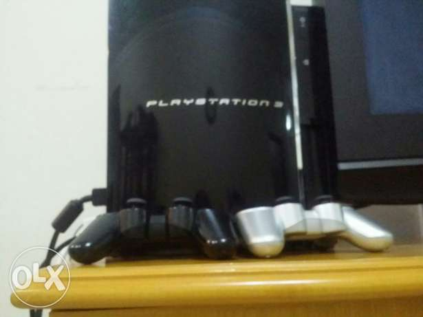 Ps3 in good condition working good for sale with 27 games