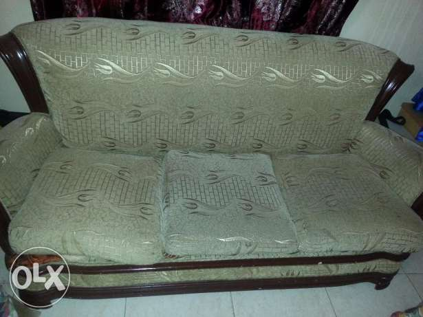 Sofa 3 seaters بوشر -  1