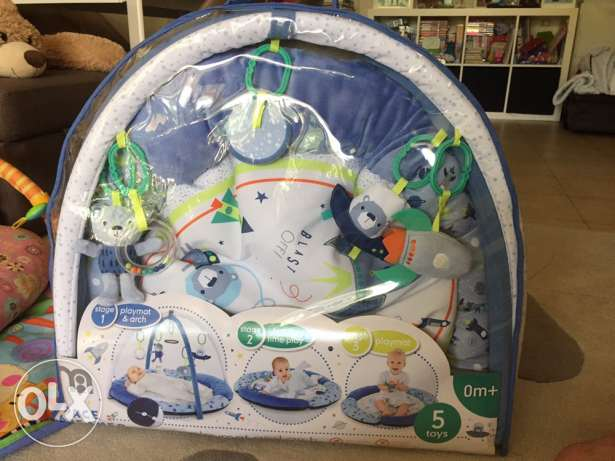 Unopened Mothercare Playmat and Arch