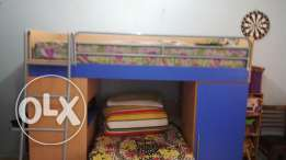 Bunk bed with mattress. Excellent condition