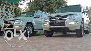 Mitsubishi Pajero 2017 white new for sale zero ميتسوبيشي باجيرو