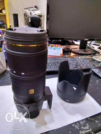 Sigma 70-200 f2.8 like new