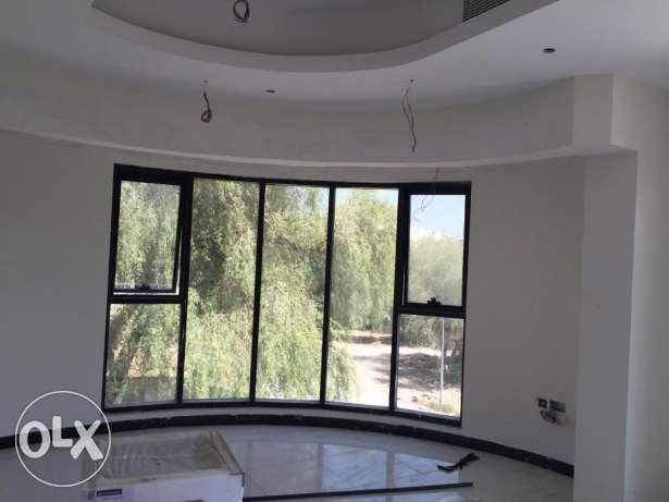 e1 nice flat for rent brand new in al qurum 2 bhk بوشر -  2