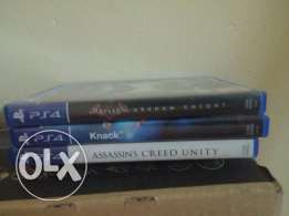 PS4 games sale or exchange