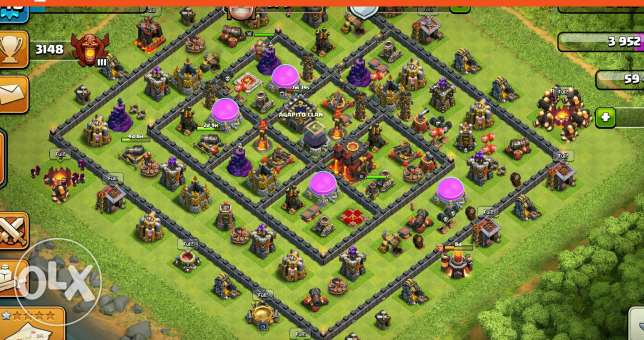 Online games COC TH 10