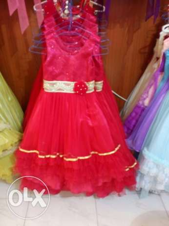 all kinds and all sizes of dresses