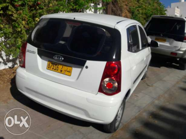 kia picanto 2011 original paint in excellent condition low mileage مسقط -  4