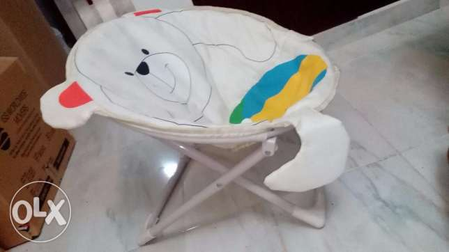 KIDS Fold-able chair in good Condition