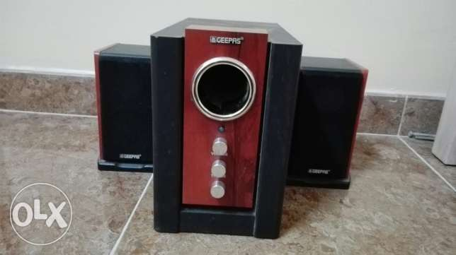 Geepas speakers for sale