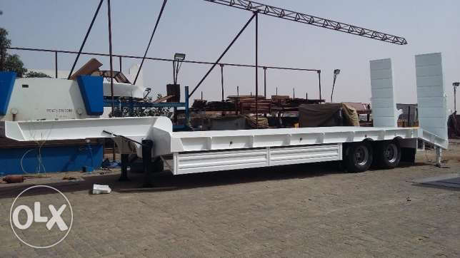 WAAAOOO! WHAT A CHANCE FOR TRANSPORTERS! low bed trailers with lowest