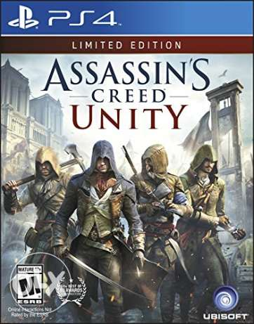 للبيع لعبة assassin creed unity limited edition