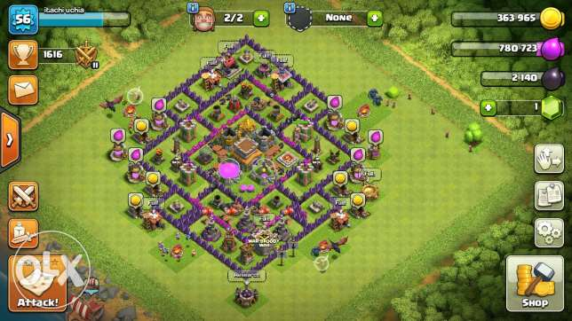 Clash of clans townhall 8