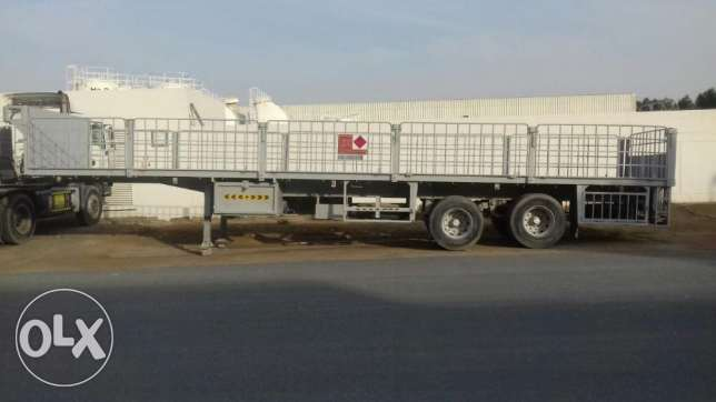 flat bed trailer in Good condition urgent for sale