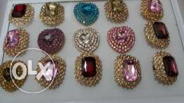 WHOLESALE- jewelery- 12 pieces big finger ring