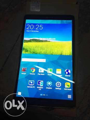 Samsung tab S with simcard 4G LTE