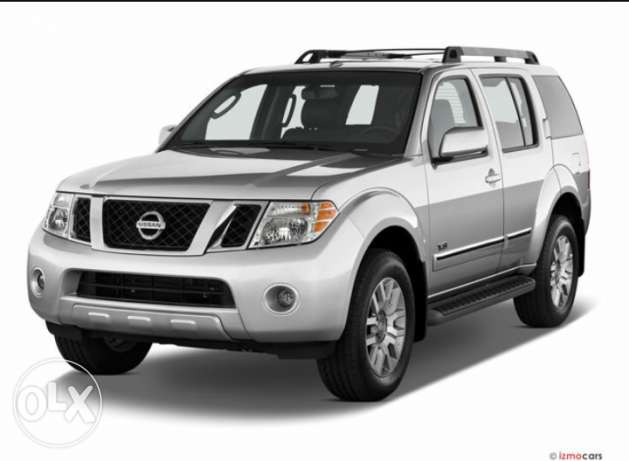 Wanted nissan pathfinder with car loan.مطلوب نيسان باثفايندر فوق 2009