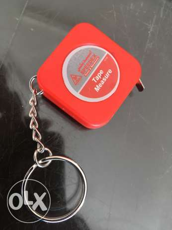 Measuring Tape keychain