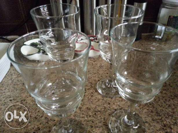 Chic Drinking Glasses Set