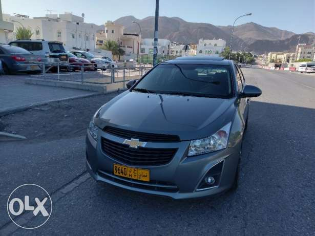 Pay 73 RO monthly Chevrolet Cruze 2013 top range under warranty as new