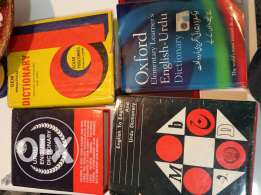 Dictionaries for sale Expat leaving urgently selling