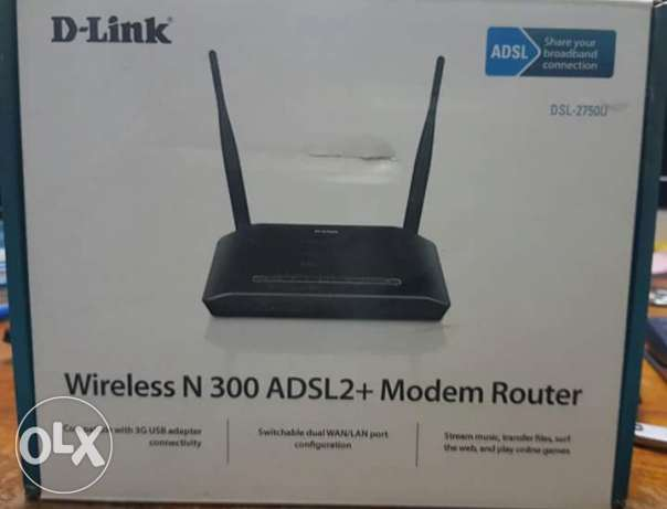 Sell D Link new package wifi modem N300