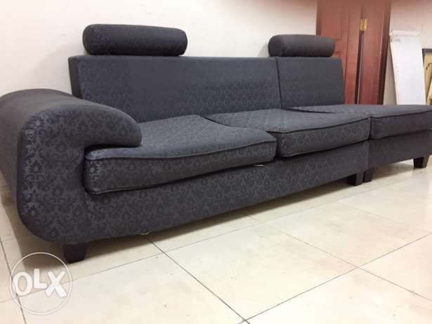 3 Seater Sofa + Sofa cum Bed (free pillows)