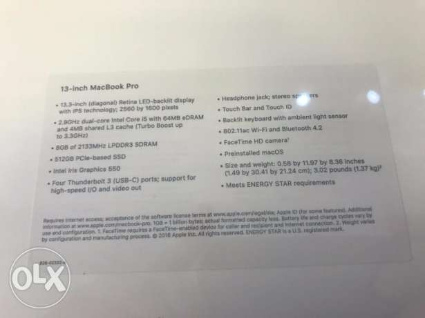 core i 7 512gb SDD macbook pro with box 2016 early model