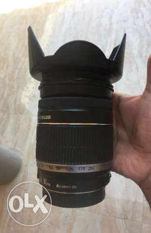 canon 18-200mm lens