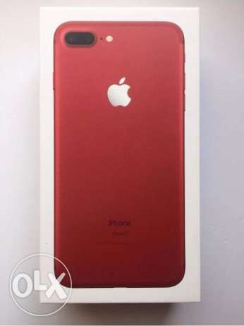 NEW Apple iPhone 7 Plus (PRODUCT) RED Special Edition 256GB Unlocked