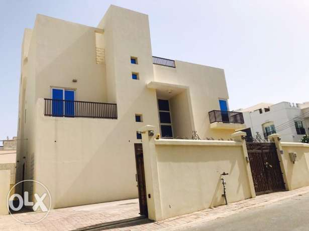 Single 5BHK+Maid Villa For Rent Madinat Qaboos Nr.British Counsil