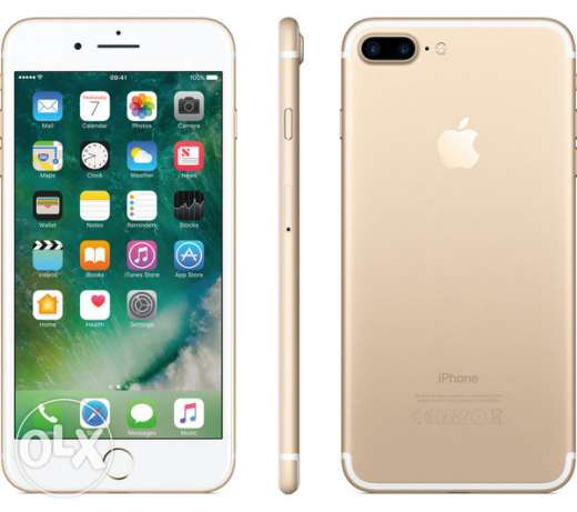 iphone7 plus 32gb with 329 OR only مسقط -  2
