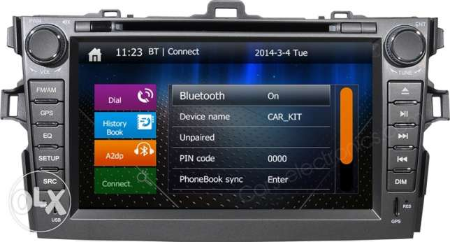 DVD Player For Toyota Corolla 2008 to 2012 مسقط -  1